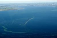 Die Insel Lieps aus der Luft